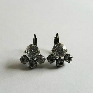 Sabika crystal drop earrings